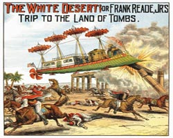 1890'ın dünyasında neler hayal ediliyordu