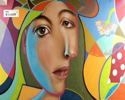 Kübizm ve Realizm karışımı 10 sokak sanatı ürünü