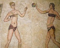 Meğer bikini Roma dönemine kadar uzanıyormuş!