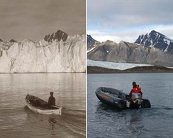 Buzullardaki erimenin alarm verdiğinin kanıtı 8 fotoğraf