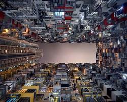 Hong Kong'u tersten fotoğraflayan sanatçıdan 14 çalışma!