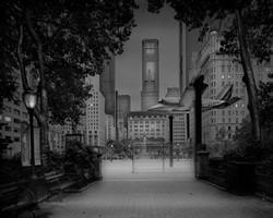 Issızlığa gömülmüş Central Park
