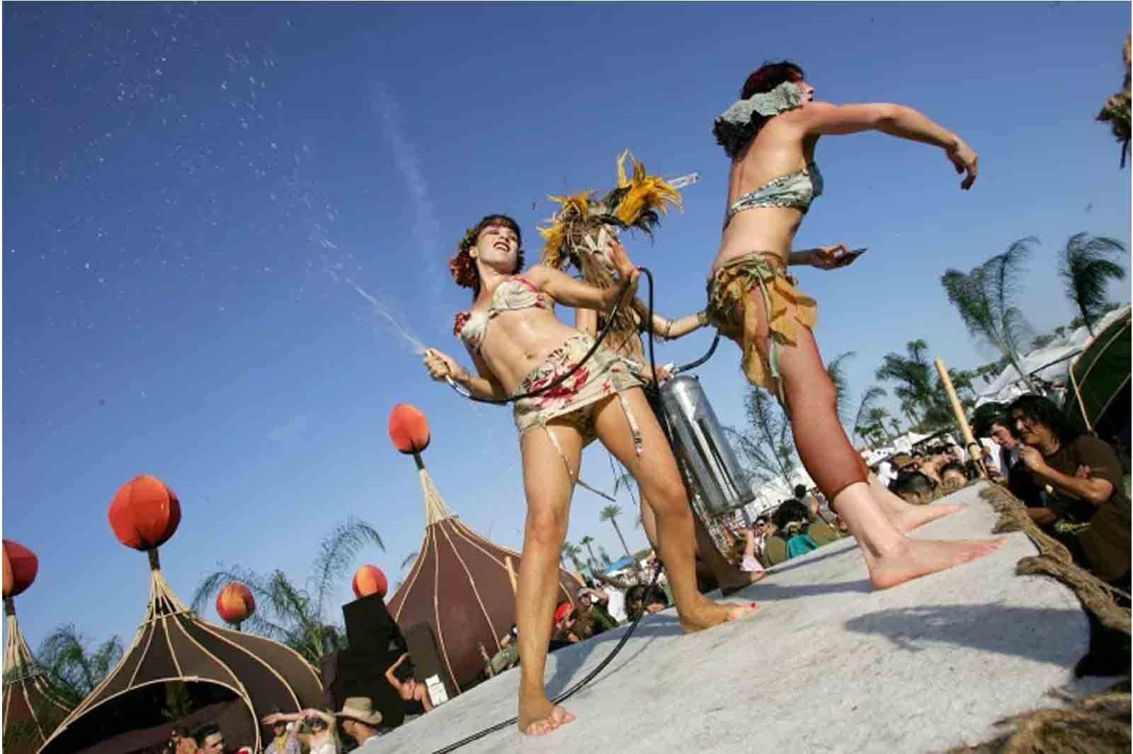Coachella Festivali'nin 10 yıl önceki hali