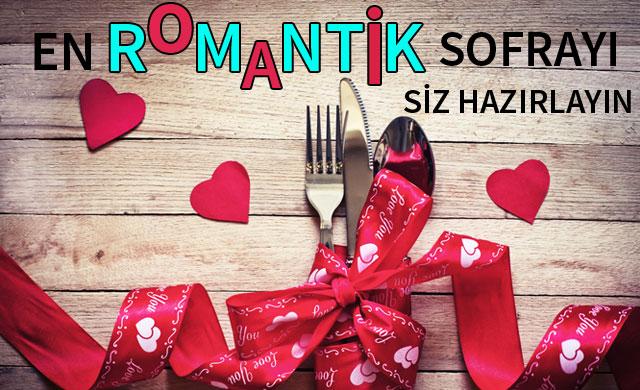 Romantik sofralar