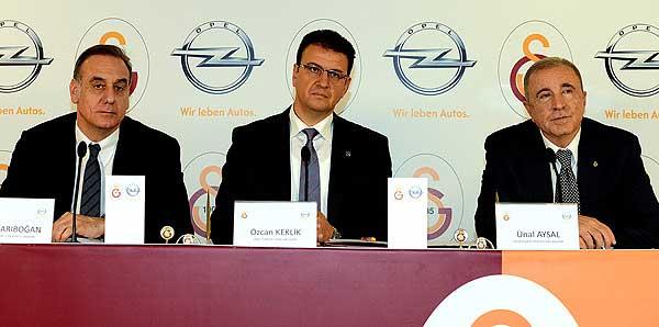 G.Saray ile Opel sponsorluk anlaşması imzaladı