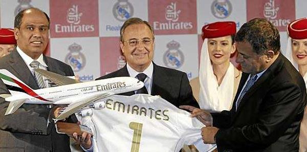 Real Madrid-Emirates işbirliği