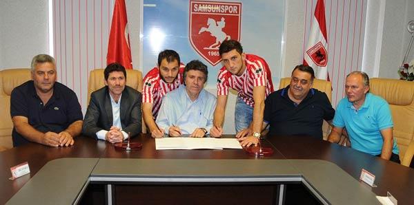 Samsunspor'dan iki transfer birden!