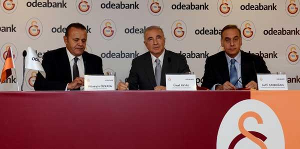 Galatasaray Kulübü ile Odeabank arasında dev işbirliği