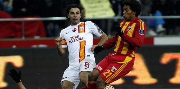 Kayserispor'un, Galatasaray'a karşı 40 yıllık galibiyet özlemi
