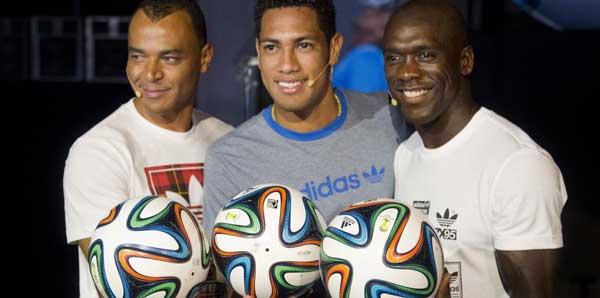 2014 Dünya Kupası'nın topu Brazuca tanıtıldı