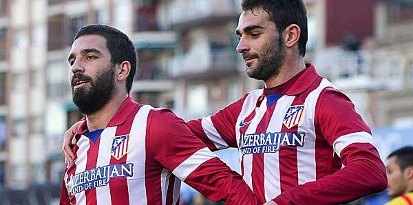 Arda Turan'dan kupa maçında 2 gol birden