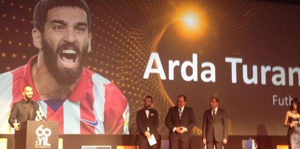 Yılın sporcusu Arda Turan