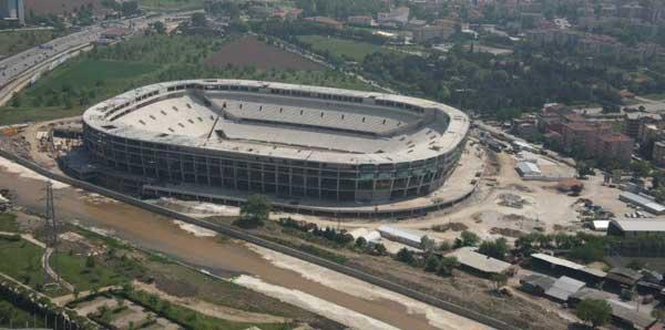 23 şehirde 25 stadyum yükseliyor