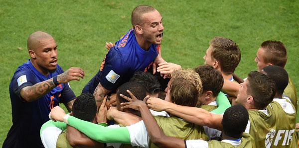 Hollanda İspanyolları ezdi geçti!