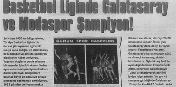 Fenerbahçe, 1955'te 40 saniye kala sahadan çekilmiş