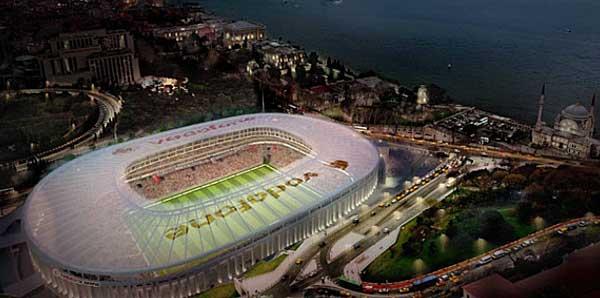 Vodafone Arena'nın Mimarı stat açılış tarihini verdi!