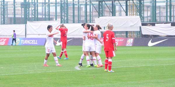 Belarus'a fark attık: 3-0