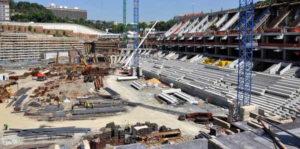 Vodafone Arena mayıs ayında bitecek