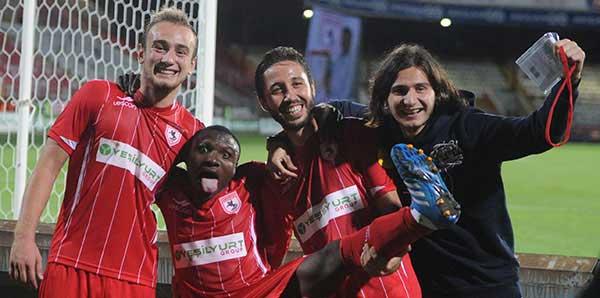 Samsunspor'un Nijeryalı oyuncusu Aminu kaçırıldı!