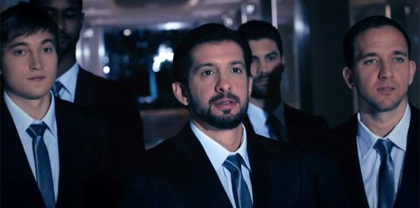 Beşiktaşlılar reklam filminde buluştu!