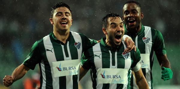 Samsunspor - Bursaspor: 2-3