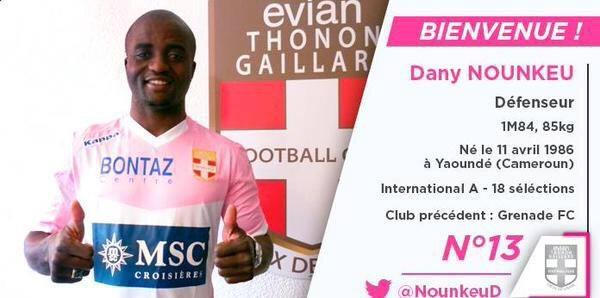 Dany 6 aylığına Evian'da