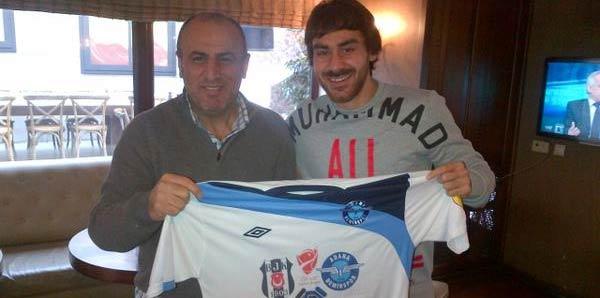 Adana Demirspor'dan Veli Kavlak'a anlamlı hediye