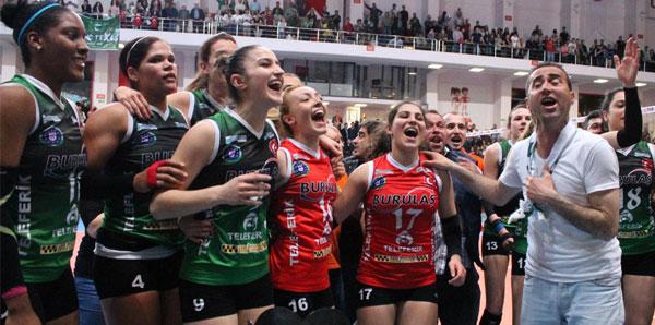 CEV Challenge Kupası, Bursa Büyükşehir Belediyespor'un!
