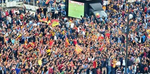 Yeni Malatyaspor, PTT 1. Lig'e yükseldi!