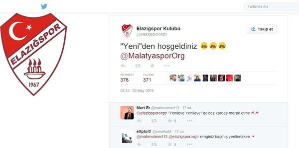 Elazığ'dan Malatyaspor'a imalı mesaj!