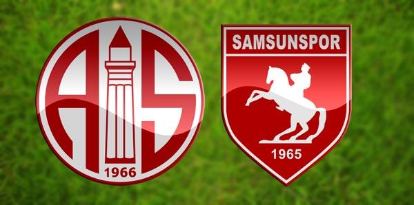 Samsunspor Antalyaspor maçı ne zaman saat kaçta hangi ...