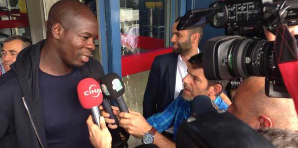 Christopher Samba Trabzon'a geldi!