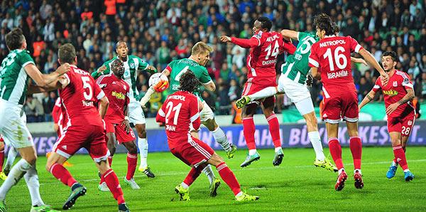 Bursaspor - Medicana Sivasspor: 1-0