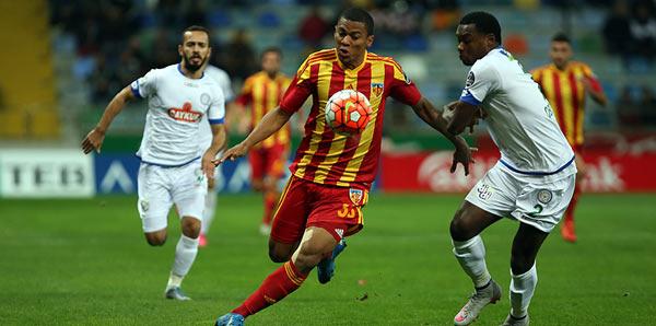 Kayserispor - Çaykur Rizespor: 0-0