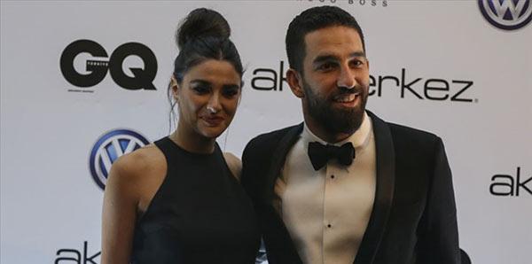 Arda Turan'a Yılın Adamı Ödülü verildi