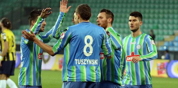 Çaykur Rizespor, kupa maçında Bucaspor'u farklı geçti