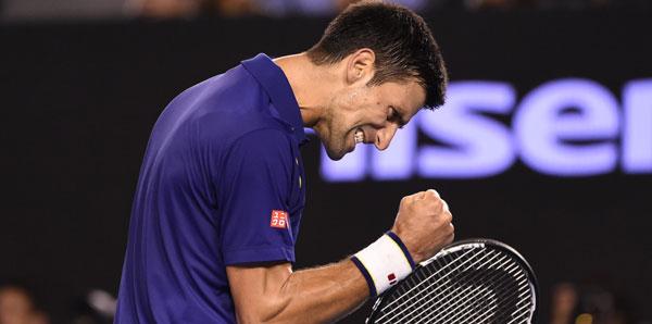 Avustralya Açık'ta Andy Murray'i 3-0 yenen Novak Djokovic şampiyon oldu