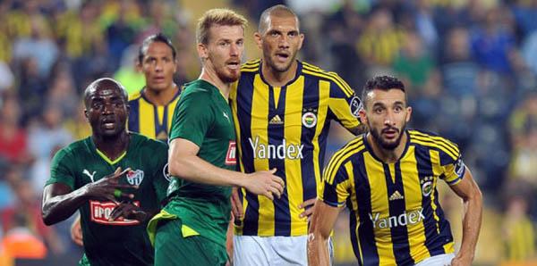 Bursaspor - Fenerbahçe maçı seyircisiz...