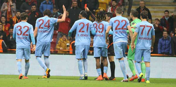 PFDKdan Trabzonspora çirkin ve kötü tezahürattan ceza