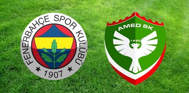 Fenerbahçe Amed Sportif maç sonucu: 3-1
