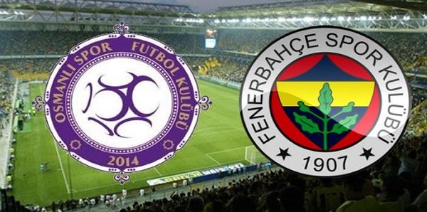 Osmanlıspor 1-1 Fenerbahçe maçı sonucu ve özeti (Osmanlı FB maçı)