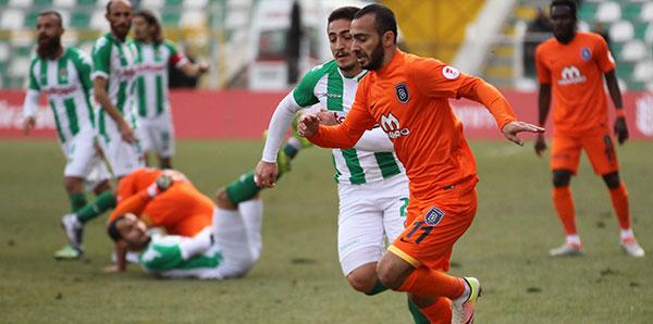 Yeni Amasyaspor-Medipol Başakşehir: 0-1