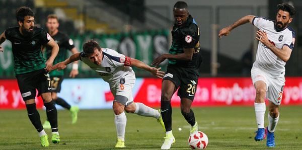 Akhisar Belediyespor - Medipol Başakşehir: 0-2