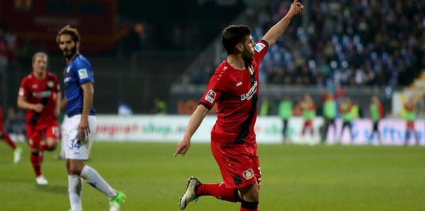 Darmstadt-Bayer Leverkusen: 0-2
