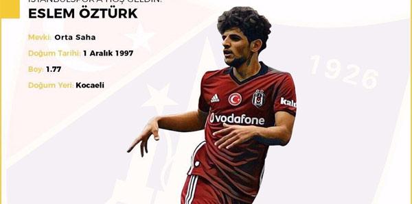 Eslem Öztürk, İstanbulspor'da...