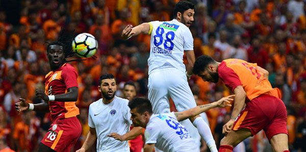 Galatasaray - Kasımpaşa: 2-0 (İşte maçın özeti)
