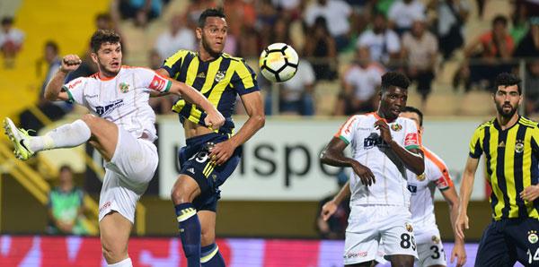 Fenerbahçe Alanya'da farklı kazandı! 1-4 İşte maçın özeti