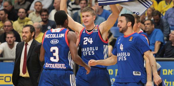 Maccabi FOX - Anadolu Efes: 72-92