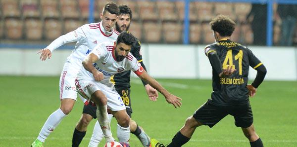 Kardemir Karabükspor-İstanbulspor: 2-1