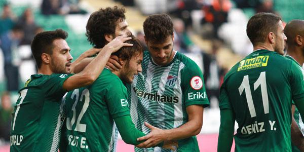 Bursaspor - Adanaspor: 2-0